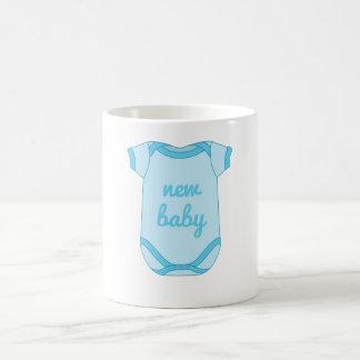 青い新生児のマグのBabygro コーヒーマグカップ