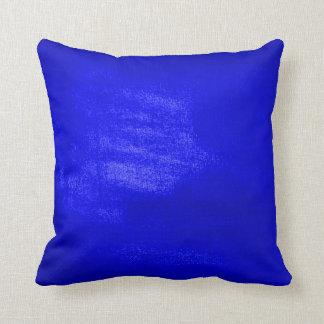 青い明るい クッション