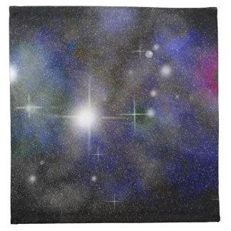 青い星雲 ナプキンクロス
