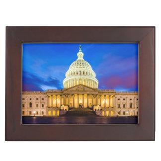 青い時間の米国の国会議事堂 ジュエリーボックス