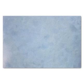 青い曇った織り目加工のティッシュペーパー 薄葉紙