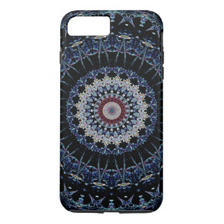 青い曼荼羅のiPhone 7のプラスの堅い穹窖 iPhone 8 Plus/7 Plusケース