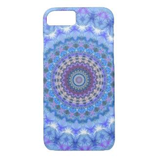 青い曼荼羅のiPhone 7の箱 iPhone 7ケース