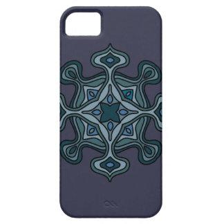 青い曼荼羅 iPhone SE/5/5s ケース