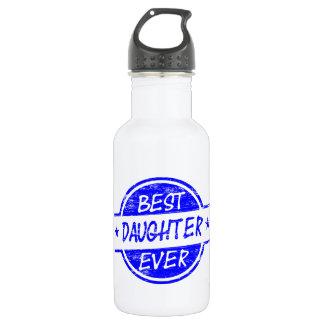 青い最も最高のな娘 ウォーターボトル
