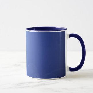 青い月光の陶磁器のマグ マグカップ