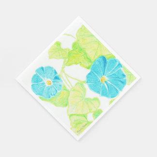 青い朝顔の庭 スタンダードランチョンナプキン