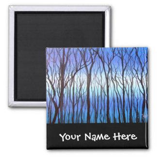 青い木 マグネット
