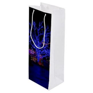 青い木 ワインギフトバッグ