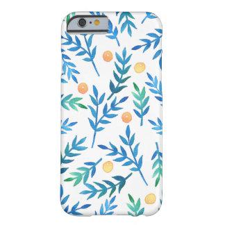 青い枝 + 珊瑚の果実 BARELY THERE iPhone 6 ケース