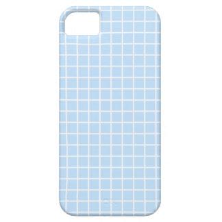 青い格子iPhone 5/5sの箱 iPhone SE/5/5s ケース