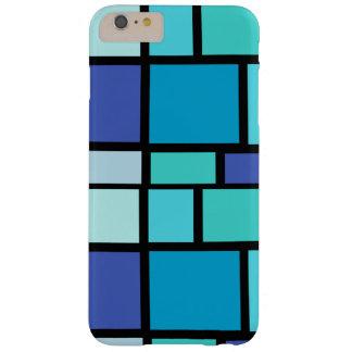 青い正方形の箱 スキニー iPhone 6 PLUS ケース