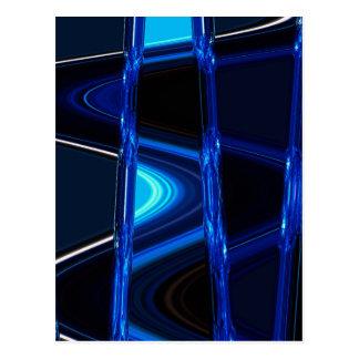 青い気晴らし ポストカード