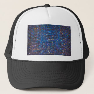 青い水晶背景 キャップ