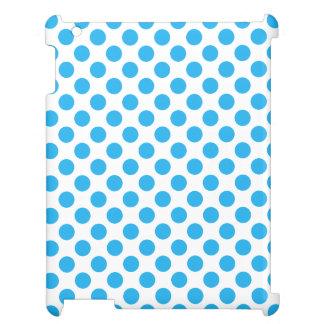 青い水玉模様 iPad CASE