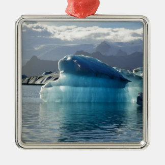 青い氷山 メタルオーナメント
