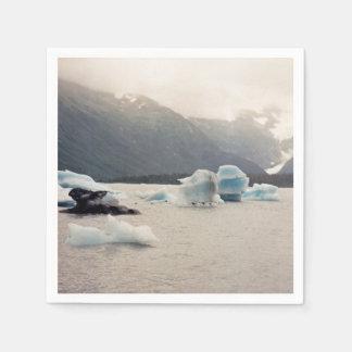 青い氷 スタンダードカクテルナプキン