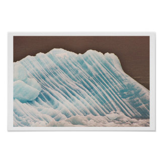 青い氷 ポスター
