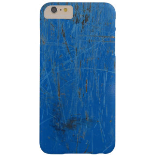 青い汚い、iPhoneの場合の上に傷付けられて Barely There iPhone 6 Plus ケース