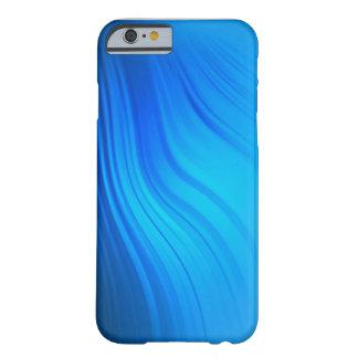青い波のiPhoneの箱 Barely There iPhone 6 ケース
