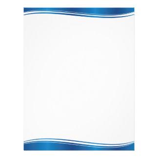 青い波 レターヘッド