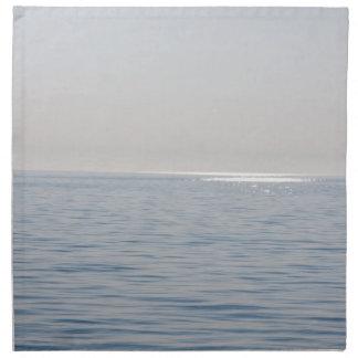 青い海および空 ナプキンクロス