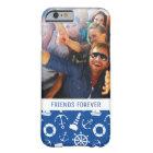 青い海パターン|あなたの写真及び文字 BARELY THERE iPhone 6 ケース