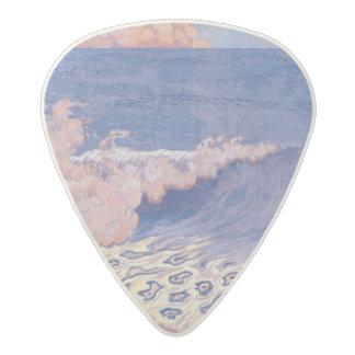 青い海景、波の効果、c.1893 アセタール ギターピック