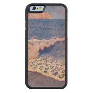 青い海景、波の効果、c.1893 CarvedメープルiPhone 6バンパーケース