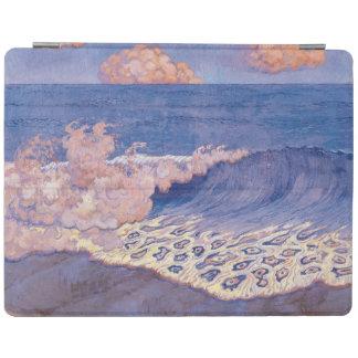 青い海景、波の効果、c.1893 iPadスマートカバー
