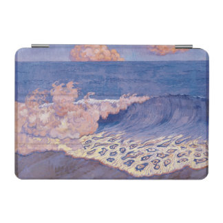 青い海景、波の効果、c.1893 iPad miniカバー