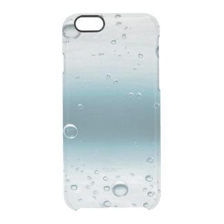 青い海水酸素の球のiPhone Clearly™ クリアiPhone 6/6Sケース