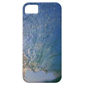 青い海洋波 iPhone SE/5/5s ケース