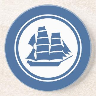 青い海賊船のブリッグの航海のなコースター コースター
