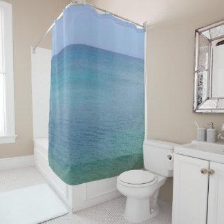 青い海 のシャワー・カーテン シャワーカーテン