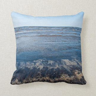 青い海 クッション