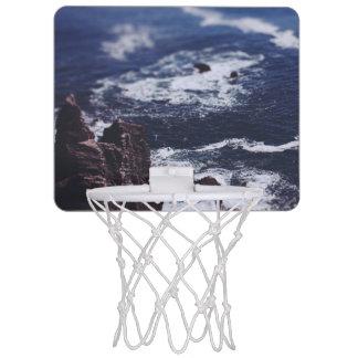 青い海 ミニバスケットボールゴール