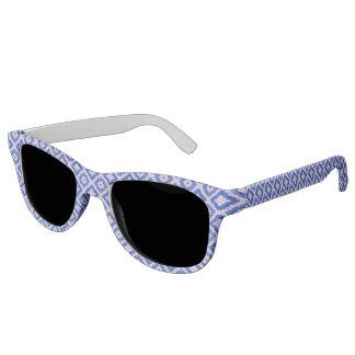 青い渦巻ルネサンスによって分極されるレンズのサングラス サングラス