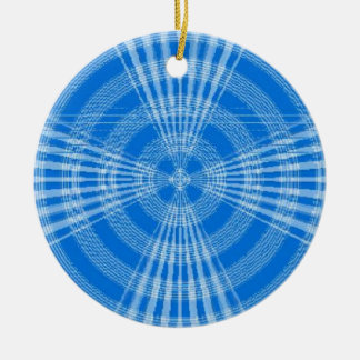青い渦巻 セラミックオーナメント