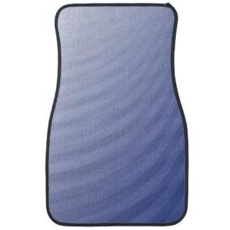 青い湾曲は縞で飾ります カーマット