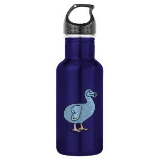 青い漫画のドードーの鳥 ウォーターボトル