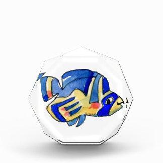 青い漫画の蝶魚 表彰盾