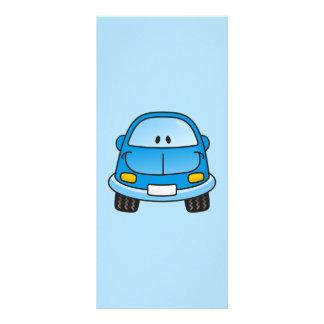 青い漫画車 ラックカード