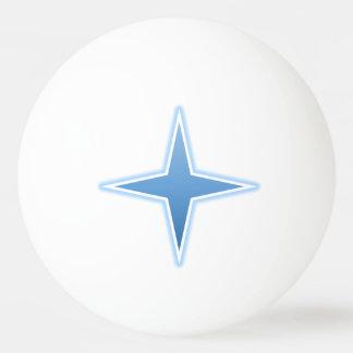 青い火花のピンポン球 卓球ボール