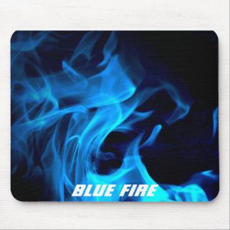 青い火 マウスパッド