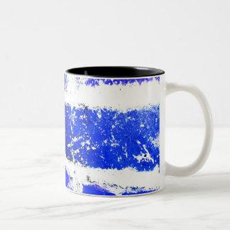 青い煉瓦マグ ツートーンマグカップ