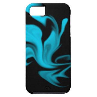 青い煙 iPhone SE/5/5s ケース