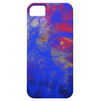 青い熱い iPhone SE/5/5s ケース