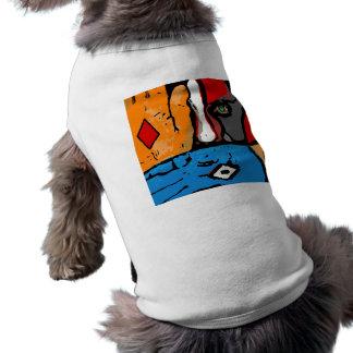 青い犬のコート ペット服
