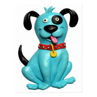 青い犬 ポストカード